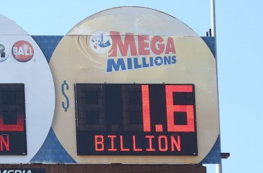 Mega Millions lottery up to $1.6 billion