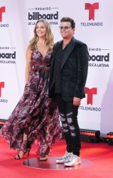 Carlos Vives walks the red carpet at the 2020 Latin Billboard Awards in Sunrise, Florida