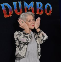 "Helen Mirren attends the ""Dumbo"" premiere in Los Angeles"