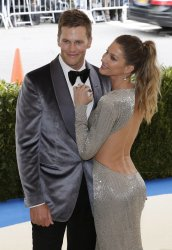 Tom Brady and Gisele Bundchen at the Met Costume Institute Benefit