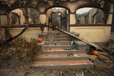 California wildfires still burning