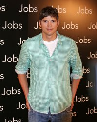 """Photo call for the film """"Jobs"""" in Paris"""