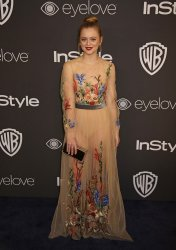Anna Baryshnikov attends the InStyle and Warner Bros. Golden Globe after-party in Beverly Hills