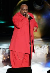 Cee Lo Green performs at  Rockefeller Center Christmas Tree lighting ceremony in New York