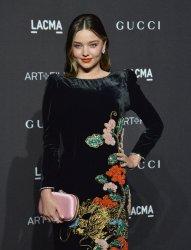 Miranda Kerr attends the eighth annual LACMA Art+Film gala in Los Angeles