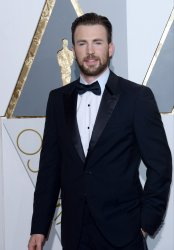 Chris Evans arrives for the 88th Academy Awards in Hollywood