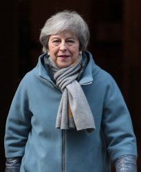 Theresa May heads to Houses of Parliament for Brexit Extension Vote