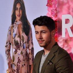 """Nick Jonas attends """"Isn't It Romantic"""" premiere in Los Angeles"""