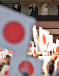 The Emperor's 81st birthday in Japan