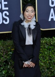 Awkwafina attends the 77th Golden Globe Awards in Beverly Hills