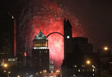 Fourth of July celebration in St. Louis