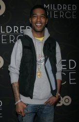 """Kid Cudi arrives for the """"Mildred Pierce Premiere in New York"""