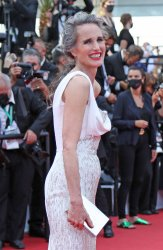 Andie Macdowell attends the Cannes Film Festival
