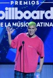Bad Bunny wins award at the Billboard Latin Music Awards in Las Vegas