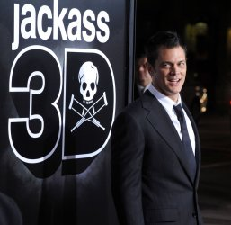 "Johnny Knoxville attends the ""Jackass 3D"" premiere in Los Angeles"