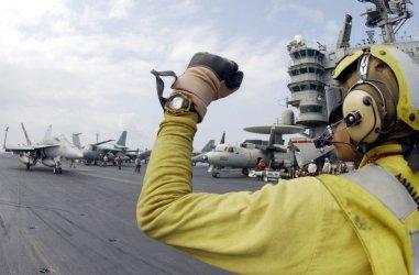 At sea aboard USS John C. Stennis