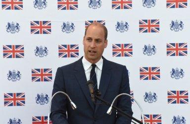Prince William Delivers A Speech In East Jerusalem