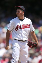 Indians Bauer pitches against the Royals