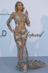 Paris Hilton attends the amfAR Gala in Antibes