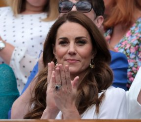 The Duchess of Cambridge at Wimbledon 2019