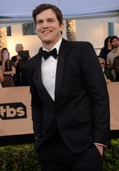 Ashton Kutcher attends the 23rd annual SAG Awards in Los Angeles
