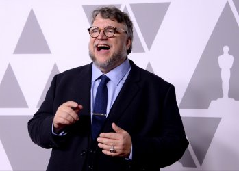 Guillermo del Toro attends the Oscar nominees luncheon in Beverly Hills