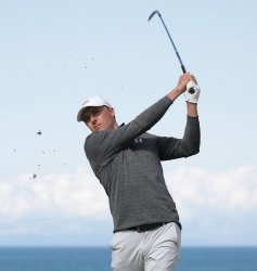Jordan Spieth on the 3rd day of the Open Championship at Royal Portrush