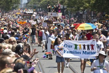 Annual LGBT Parade in San Francisco