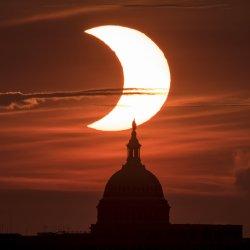 Partial Solar Eclipse From Virginia