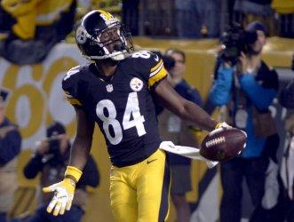 Pittsburgh Steelers Antonio Brown 38 yard Touchdown in Pittsburgh