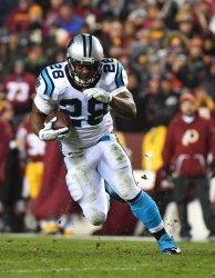 Carolina Panthers running back Jonathan Stewart