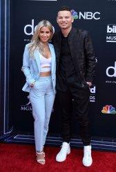 Katelyn Jae and Kane Brown attend the 2019 Billboard Music Awards in Las Vegas