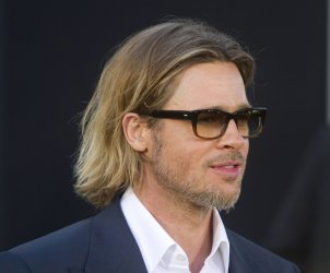 "Brad Pitt arrives at the premiere of ""Moneyball"" in Oakland, California"