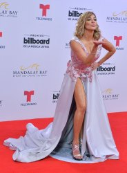 Cristina Eustace attends the Billboard Latin Music Awards in Las Vegas