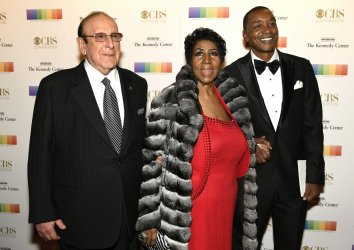 Aretha Franklin arrives for Kennedy Center Honors Gala in Washington DC