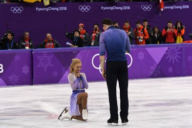 Pairs Figure Skating Free Skating at the Pyeongchang 2018 Winter Olympics