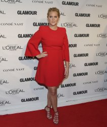 Amy Schumer arrives at Glamour Woman of the Year Awards