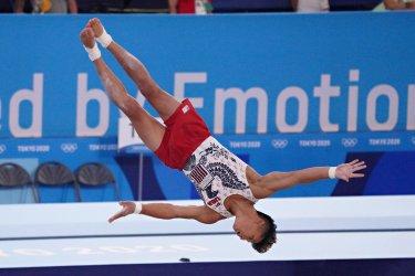 Men's Gymnastics Preliminaries at Tokyo Olympics