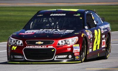 Jeff Gordon at Daytona International Speedway