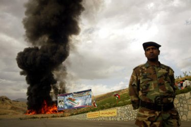 IRAN BURNS 70 TONS OF NARCOTIC DRUGS