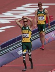 Men's 4x400 Metres Relay Heats at 2012 Olympics in London