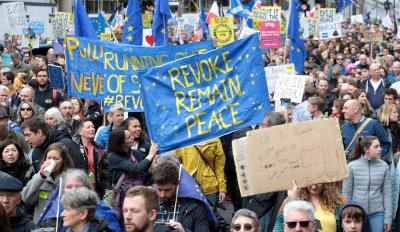 People's March against Brexit Vote