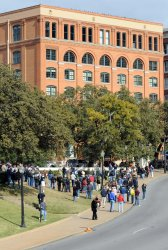 Visitors Gather in Dallas on Anniversary of JFK Assassination.