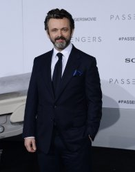 """Michael Sheen attends the """"Passengers"""" premiere in Los Angeles"""