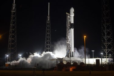 SpaceX Falcon 9 Aborts Launch at Cape Canaveral