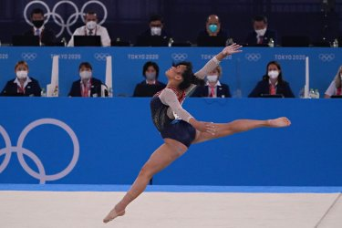 Women's Individual Artistic Gymnastics Finals at Tokyo Olympics