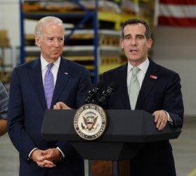 Vice President Joe Biden hails minimum wage increase in Los Angeles