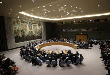 Mahmoud Abbas addresses the UN Security Council