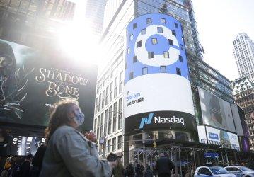 Coinbase Global, Inc. IPO at the Nasdaq in New York