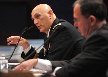 General Ray Odierno testifies on Iraq in Washington